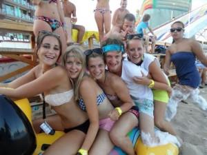 reisleider uitgaan sunny beach gofun